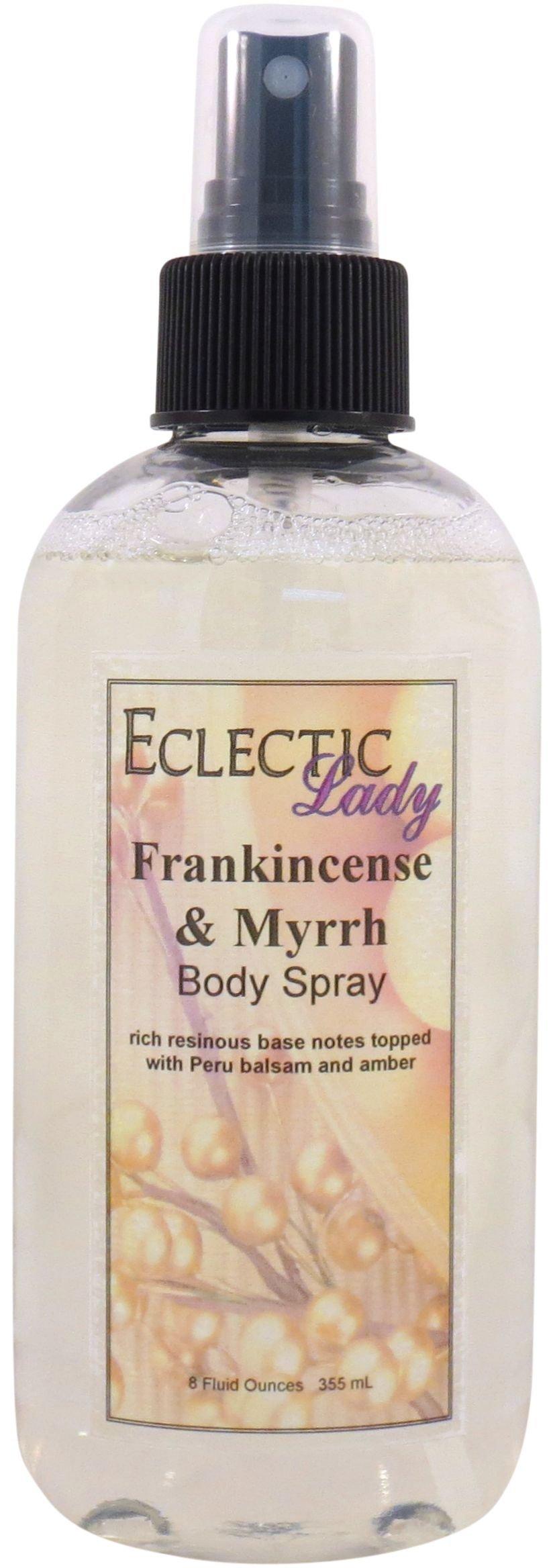 Frankincense And Myrrh Body Spray, 8 ounces