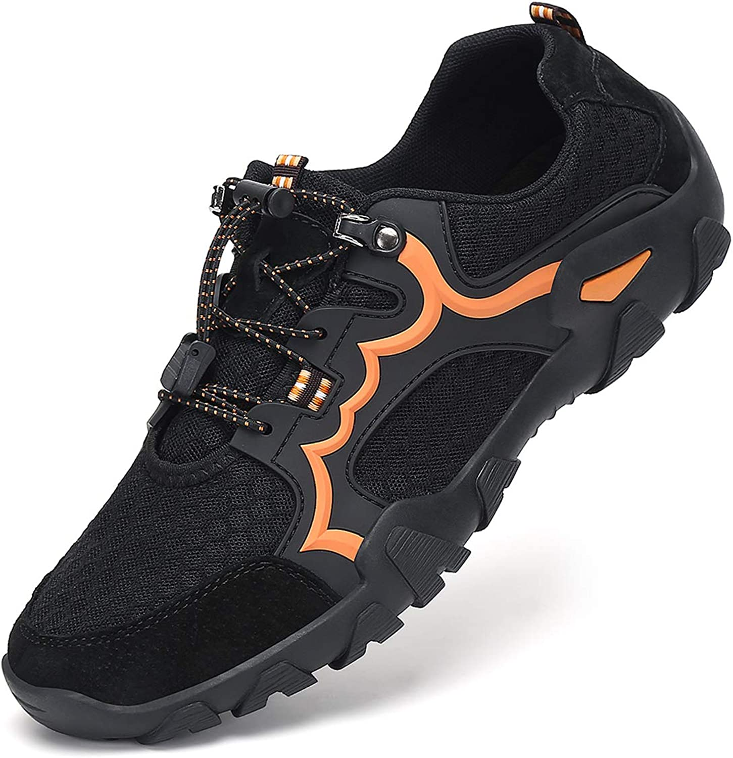 Amazon.com | AFFINEST Mens Hiking Shoes Breathable Mesh Lightweight Water  Shoes Quick Drying Sandals Walking Barefoot Outdoor Non Slip Training  Sneakers | Water Shoes