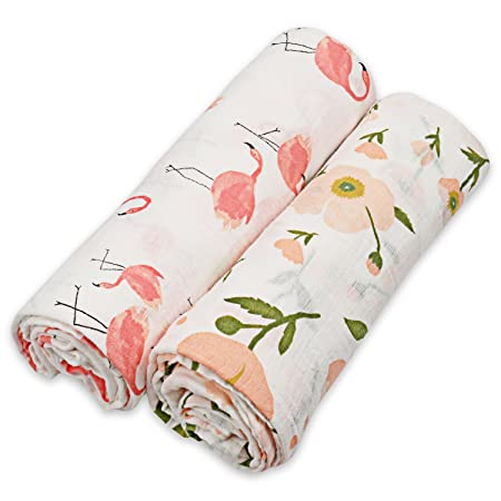 Amazon.com: Muslin Swaddle Blankets for Baby,100% Cotton Muslin 47 x 47 inch Baby Blankets Cloth Diapers for Wrapping and Swaddling Infants, ...