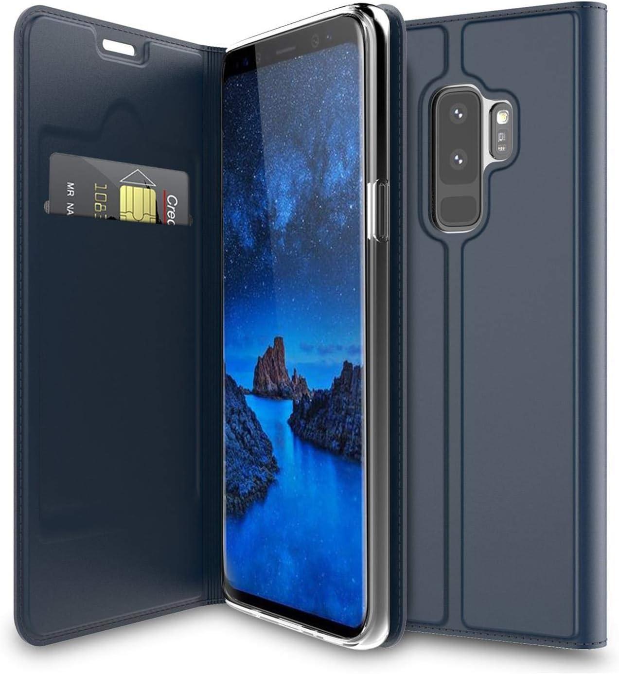 Verco Handyhülle Für Galaxy S9 Plus Premium Handy Flip Elektronik