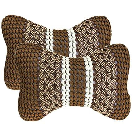 2 x Demarkt - Auto asiento cojín cervical Cuello ...