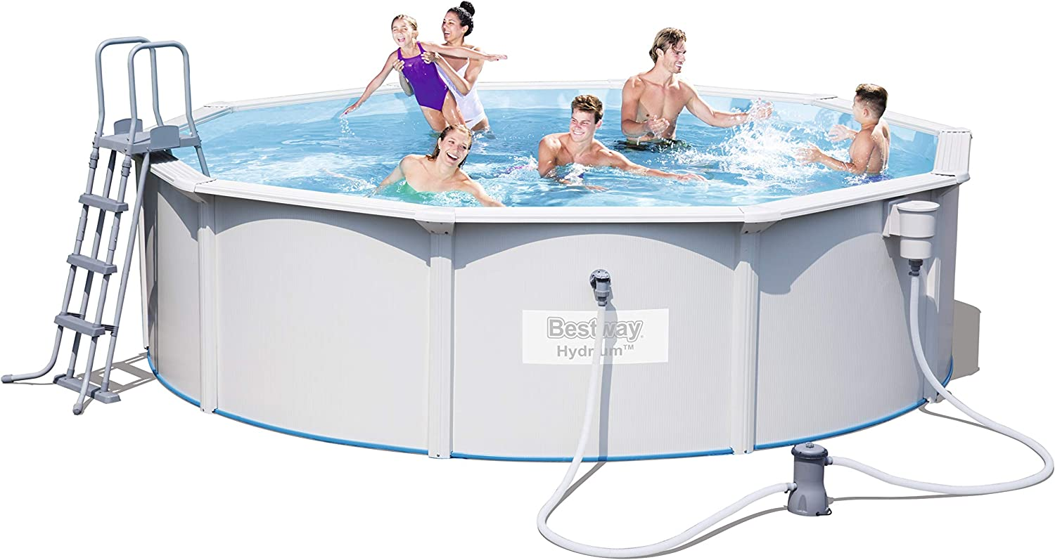 Bestway 56382 - Piscina (Montura, Alrededor, Gris): Amazon.es ...