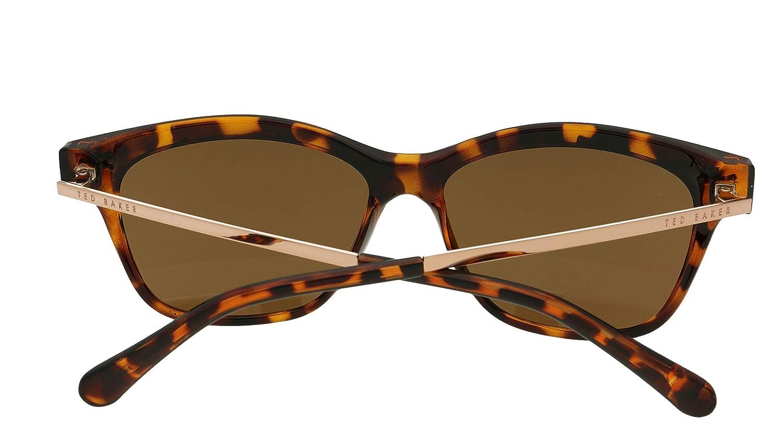 Amazon.com: Ted Baker tb1441 122 Tortoiseshell Inga Oval ...