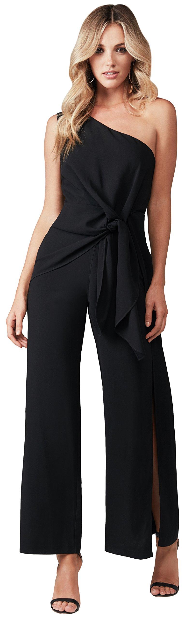 Bardot Women's Petite Bellini Jumpsuit, Black, X-Small