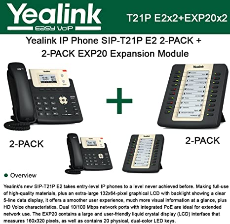 Brand New in Box Yealink EXP20 LCD Expansion Module for SIP-T27P and SIP-T29G