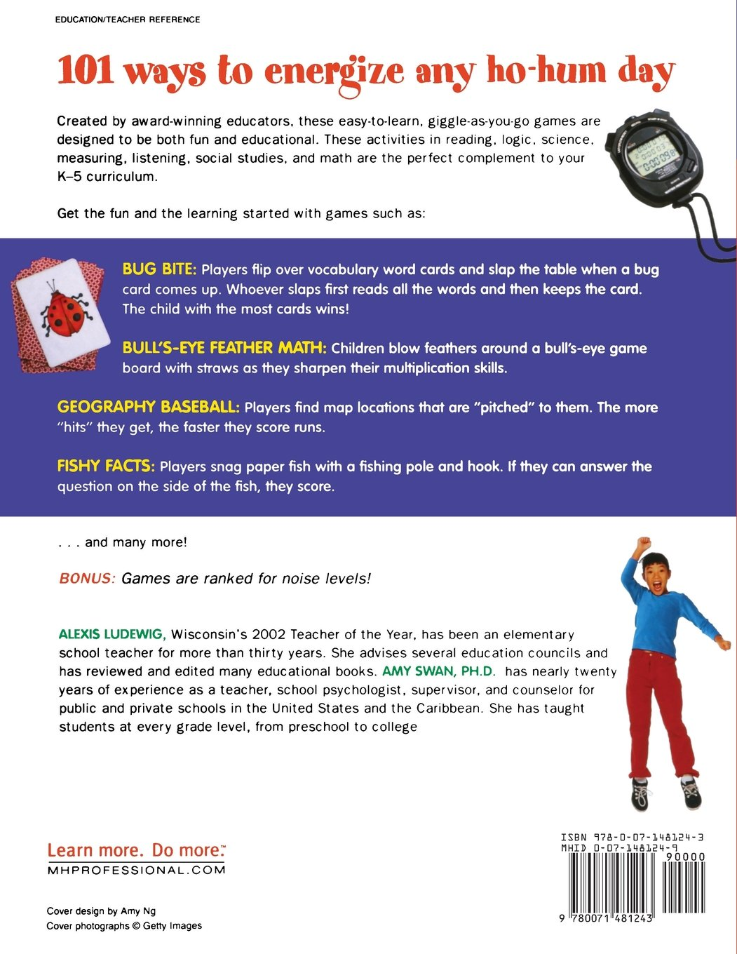 101 Great Classroom Games: Easy Ways to Get Your Students Playing,  Laughing, and Learning 101... Language Series: Amazon.co.uk: Alexis  Ludewig, ...