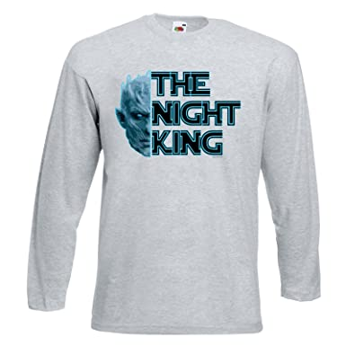 Herren Lustige Spruche Fun T Shirts Knight King White Walker Game Of