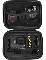SHOOT Carrying Case Shockproof Storage Case for GoPro Hero 7/(2018)/6/5/4/3+/3 Xiaomi Yi SJcam APEMAN Cameras and Accessories
