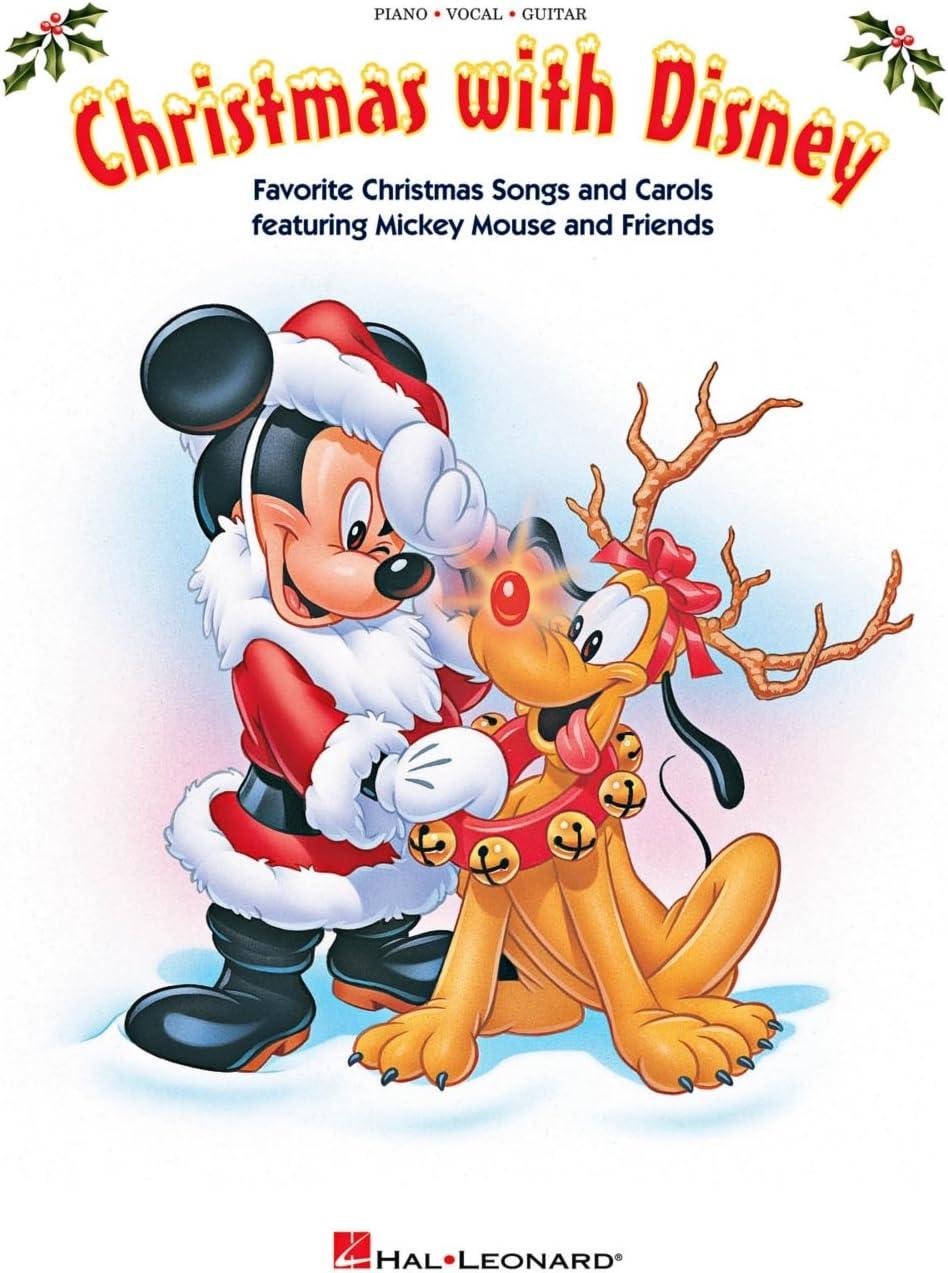 Hal Leonard Christmas With Disney - Libreta de canciones, diseño de piano, voz y guitarra: Amazon.es: Instrumentos musicales