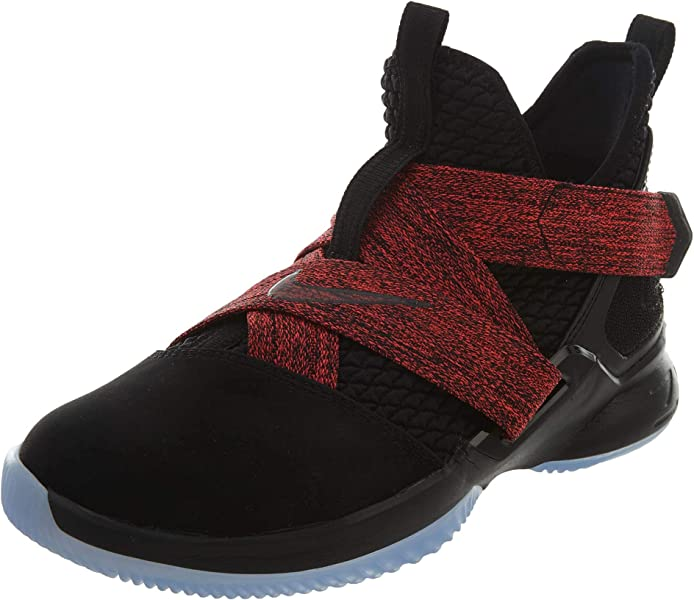 new styles aaa26 fdc16 Nike Lebron Soldier XII (GS) Boys Basketball-Shoes AA1352-003 4.5Y