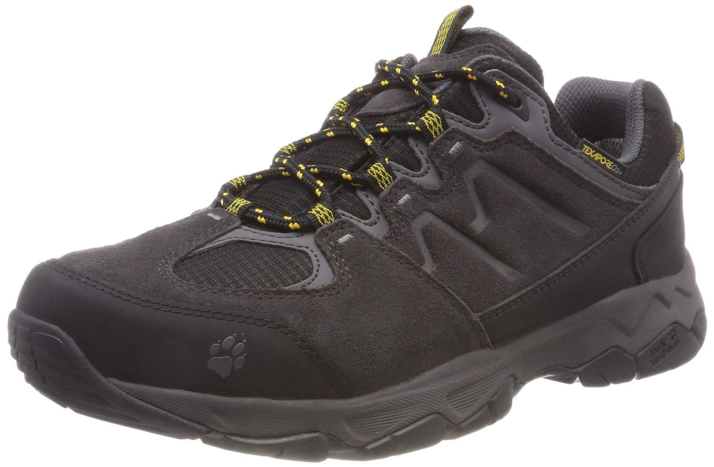 Jack Wolfskin MTN Attack 6 Texapore Low M, atmungsaktive & wasserdichte Wanderschuhe für Herren, Wanderschuhe mit schnell trocknendem Futter, komfortable Outdoor Schuhe