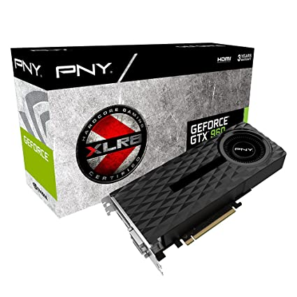 PNY GF GTX 960 4GB DDR5 PCI-E NVIDIA GeForce GTX 960 4GB - Tarjeta gráfica (Activo, NVIDIA, GeForce GTX 960, GDDR5-SDRAM, PCI Express x16 3.0, 4096 x ...