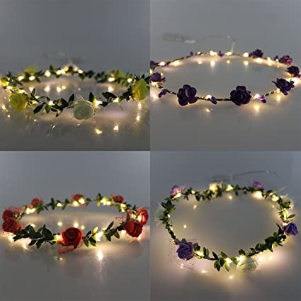 In Workmanship Light Aqua Garlands Leaves Decorative Wreaths Headbands Wedding Garland Forehead Hair Head Band Beach Headwear Exquisite