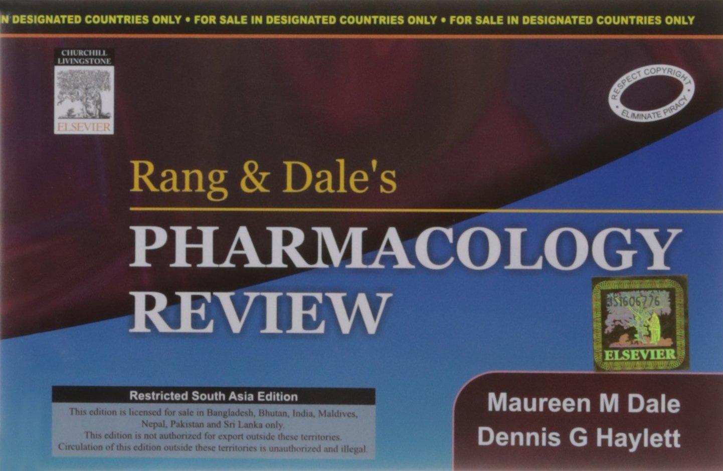 RANG PHARMACOLOGY PDF DOWNLOAD