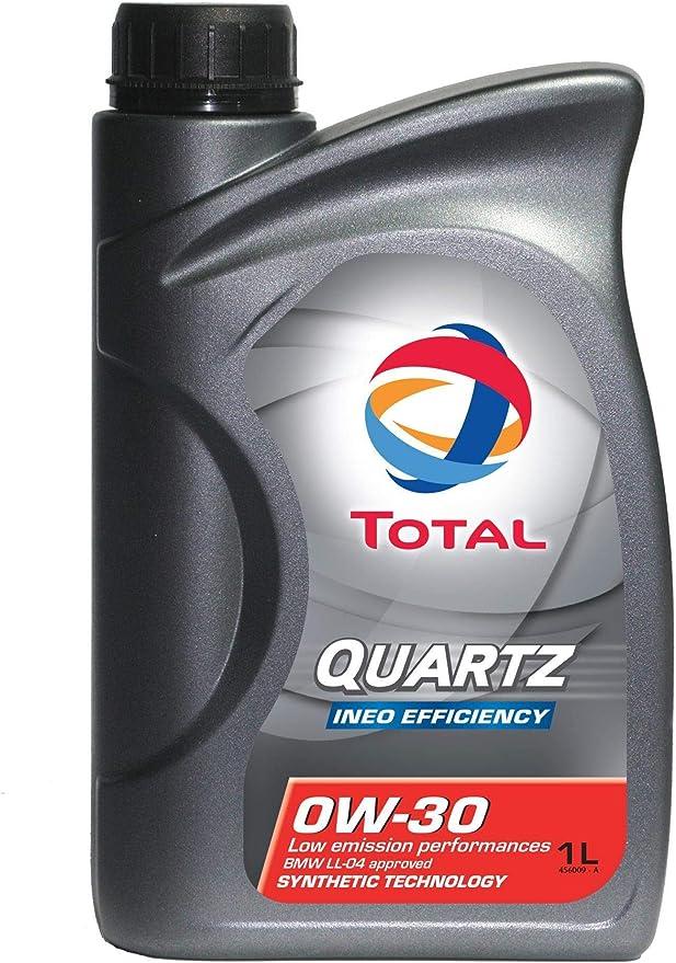 Engine Oil Quartz Ineo Efficiency 0w 30 1 L Total 186931 Auto