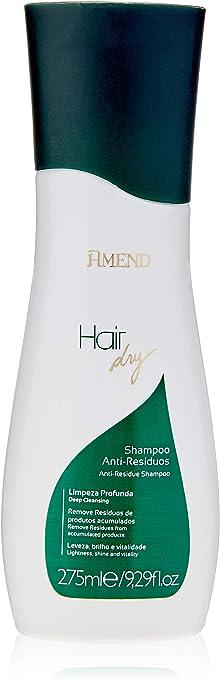 Shampoo Anti Resíduos Hair Dry, 275 ml, Amend