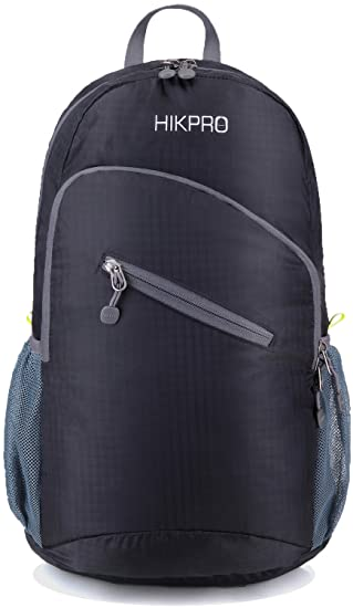Amazon.com: Lightweight Packable Backpack 25L | Water Resistant ...