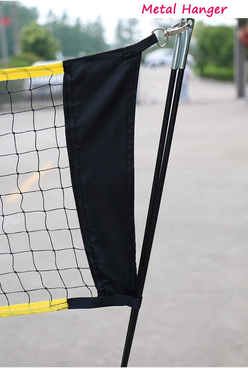 Portable Removable Volleyball Badminton Net Set With Stand Carrying Bag For Indoor Outdoor Sport Complete Sets Amazon Canada
