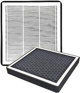 Ease2U Cabin Air Filter for HYUNDAI Tucson, Elantra,HYUNDAI Veloster, HYUNDAI Accent, Genesis Coupe, KIA, Forte, Rio, Rondo, Sportage, Activated Carbon