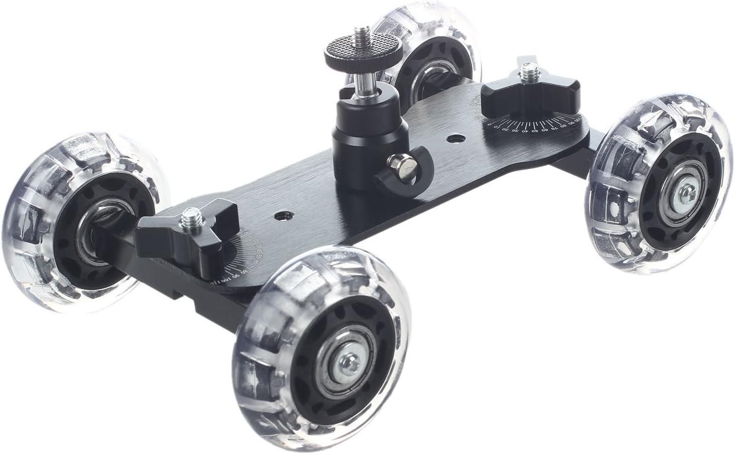 TOOGOO Dolly Skater de Mesa Compacta de Tripode Con mini Rotula ...