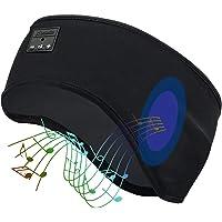 Bluetooth Sleep Headphones, HEYMIX Wireless Sports Headband Headphones with Ultra-Thin HD Stereo Speakers (Perfect for…