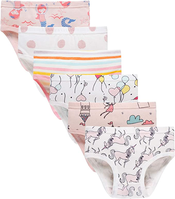 GIRLS 10-12 YEARS BRIEFS KNICKERS UNDERWEAR PANTS EVERYDAY CASUAL UNDERPANTS