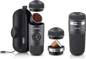 WACACO NANOPRESSO Espresso Coffee Machine CASE APAPTER Barista KIT Portable
