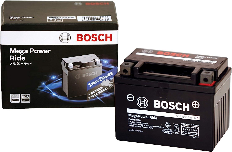 BOSCH (ボッシュ)メガ・パワー・ライド 二輪車用バッテリー RBTZ7S-N