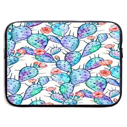 992a441d19b0 Amazon.com: Hand Painted Watercolor Flowering Cactus Business ...