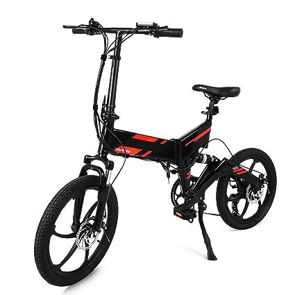 mymotto 20 pulgadas plegable bicicleta eléctrica 250 W transmisión ...