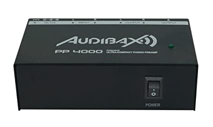 Audibax PP4000 Previo Phono RIAA. Interruptor ON/OFF: Amazon.es: Electrónica