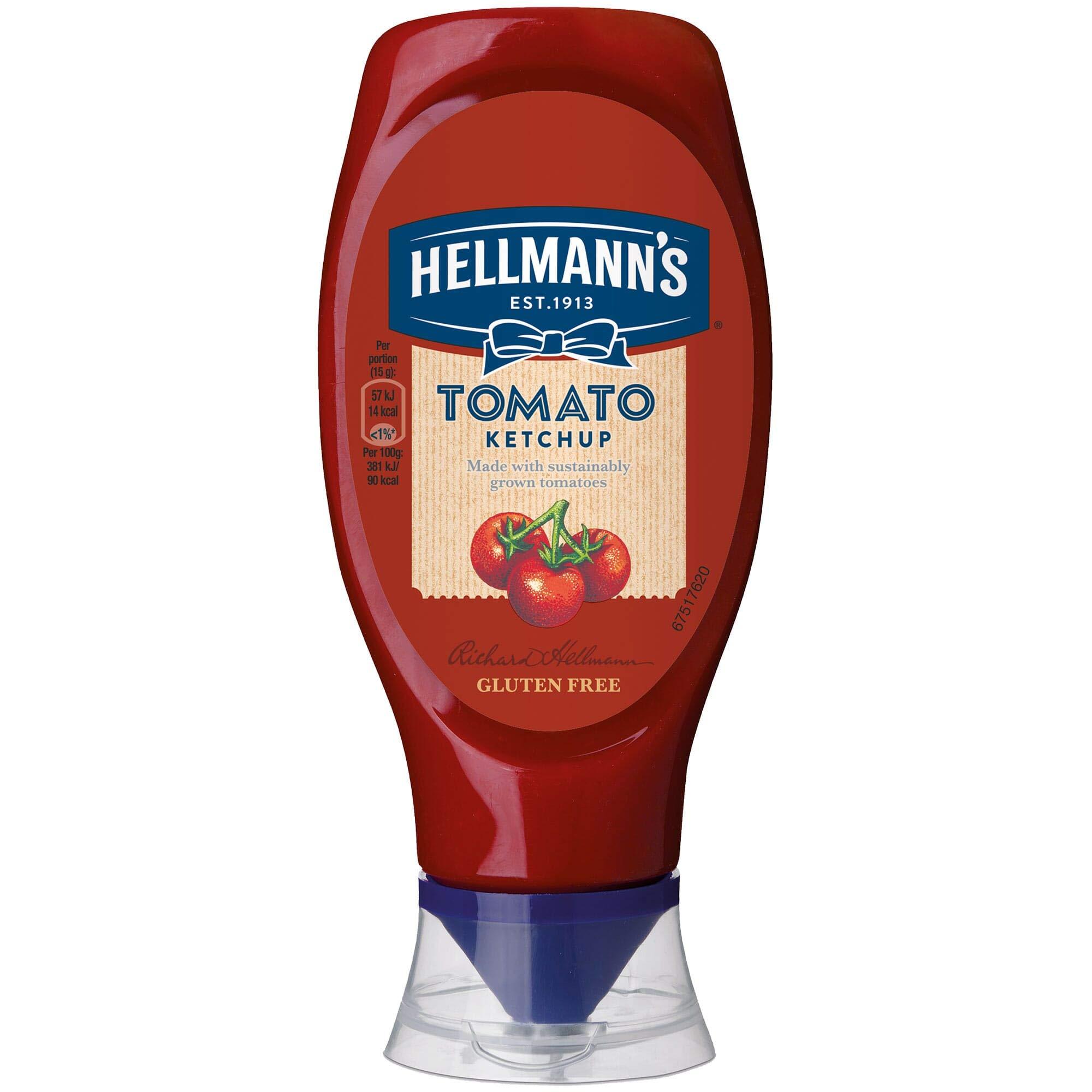 Hellmann's Tomato Ketchup - 8x430ml