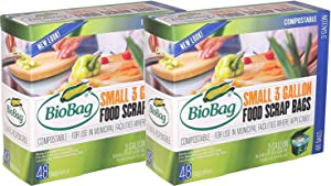 BioBag Small 3 Gallon Food Scrap Bags (2 Pack)