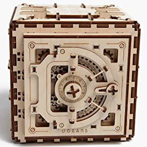 UGEARS Mechanical Safe Model Kit Review