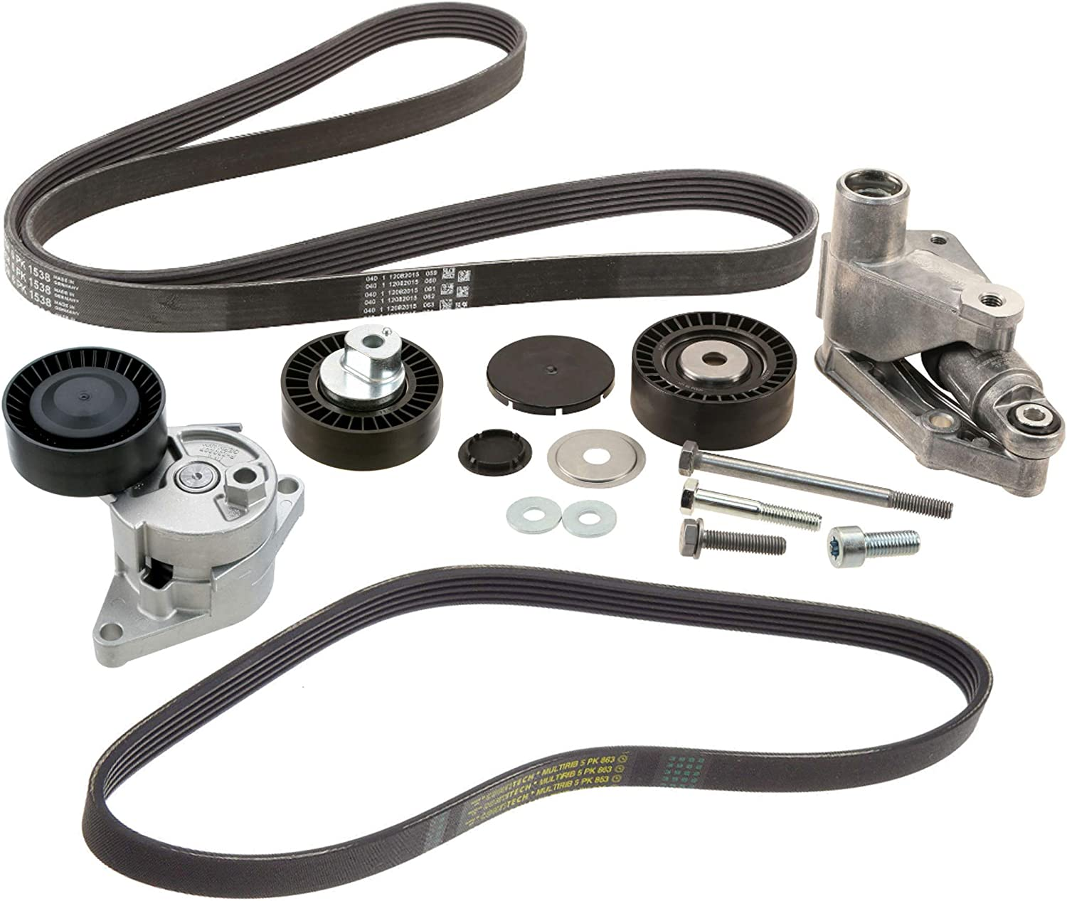 Idler Pulleys INA Accessory Drive Belt Tensioner Assembly Idler ...