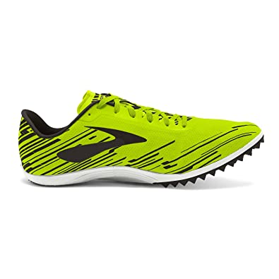 9f208567494ad Brooks Men s Mach 18 Spikeless Nightlife Brite Blue Black Athletic Shoe   Buy Online at Low Prices in India - Amazon.in