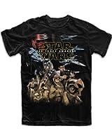 Star Wars Mens' The Force Awakens Resistance T Shirt