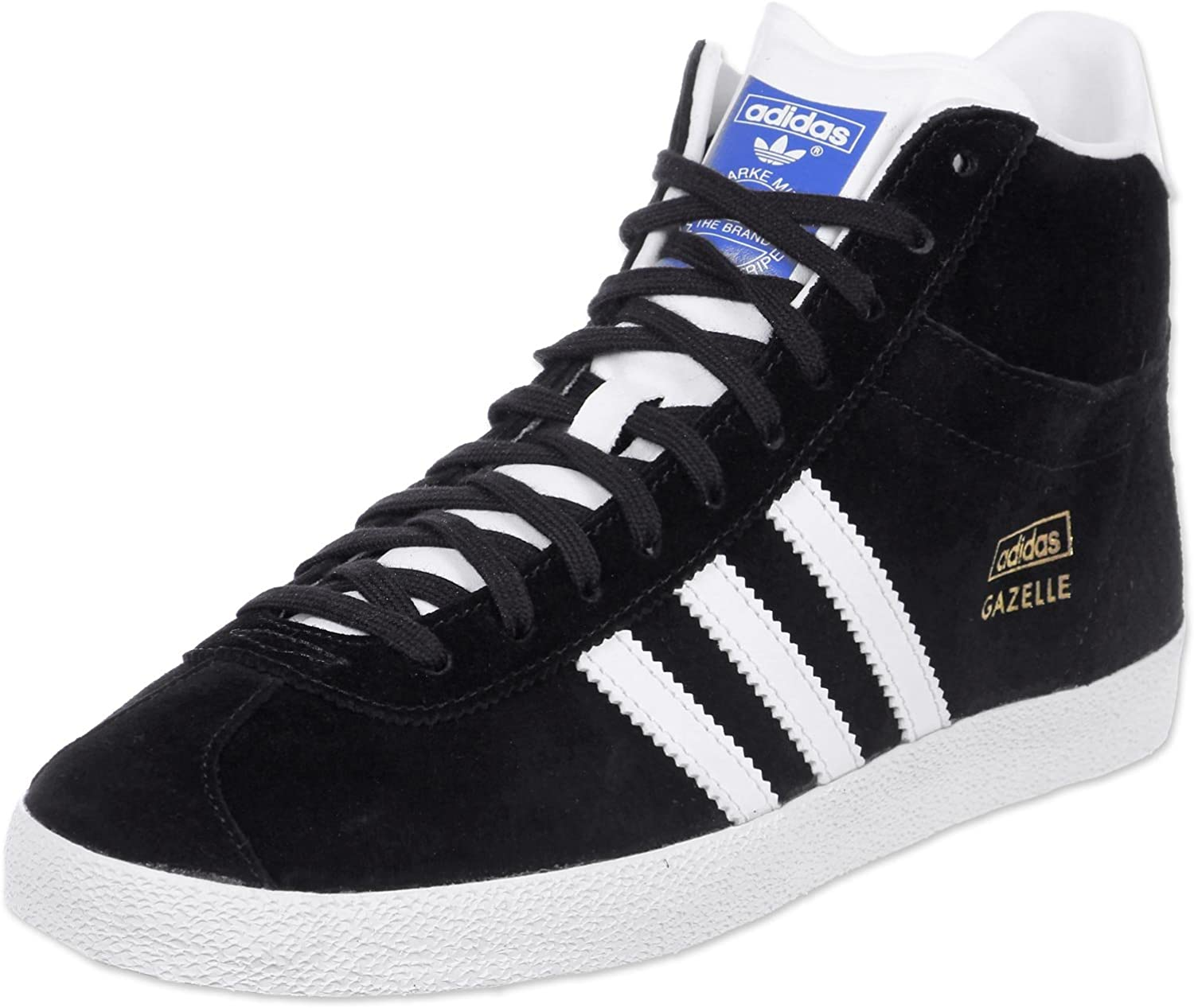 Obligatorio difícil Rocío  Adidas – Gazelle Og Basketball Rising Mid Blk black Size: 4 UK:  Amazon.co.uk: Shoes & Bags