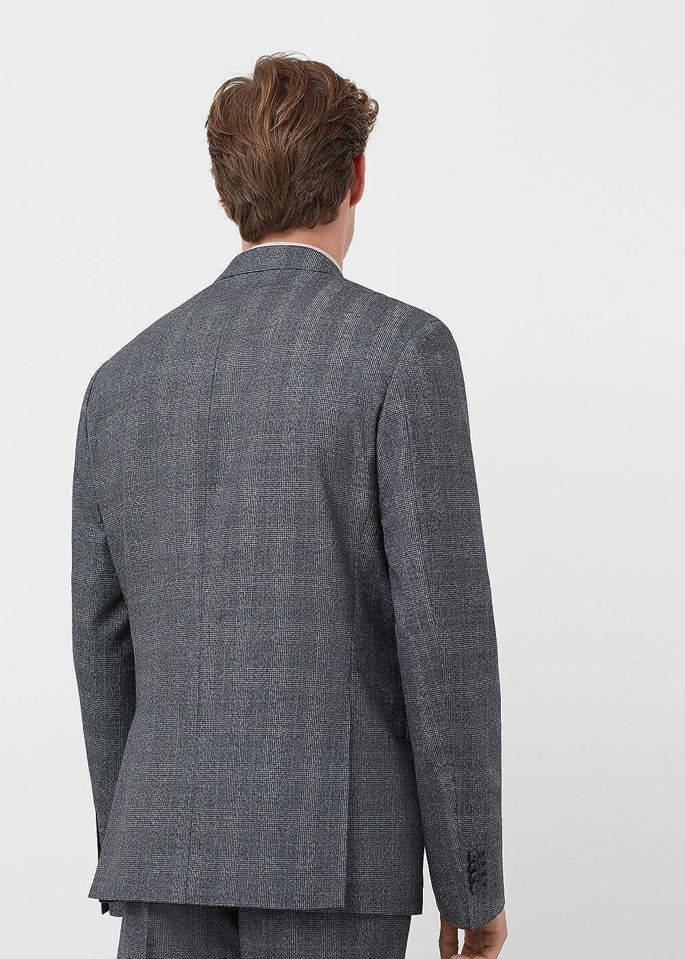 18f48455fc40 MANGO MAN - Veste de costume prince de Blazer Habillé galles - Taille 56 -  Couleur Gris chiné moyen  Amazon.fr  Vêtements et accessoires