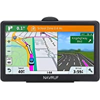 Car GPS Navigator, 7-inch 8GB HD Touch Screen GPS Navigation System, Voice Transition Direction, with Free Lifetime map Update