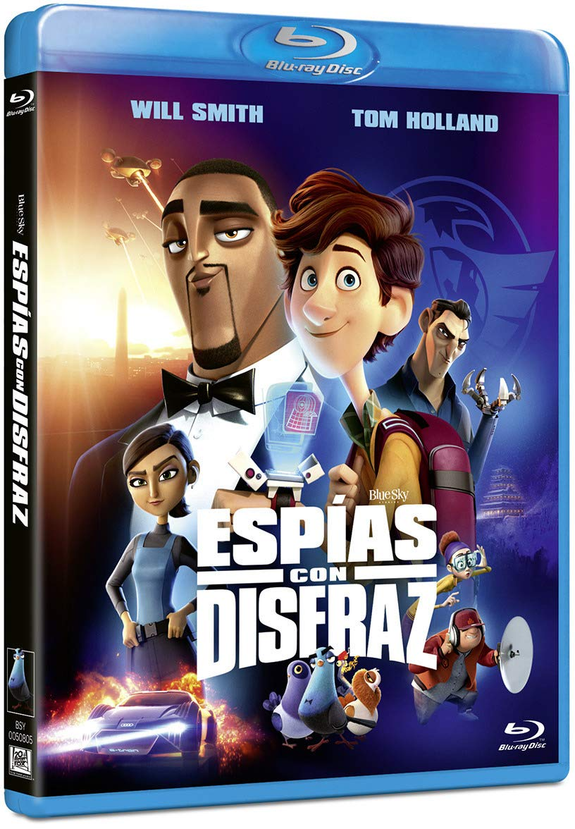 Espías con Disfraz [Blu-ray]: Amazon.es: Will Smith, Tom Holland ...