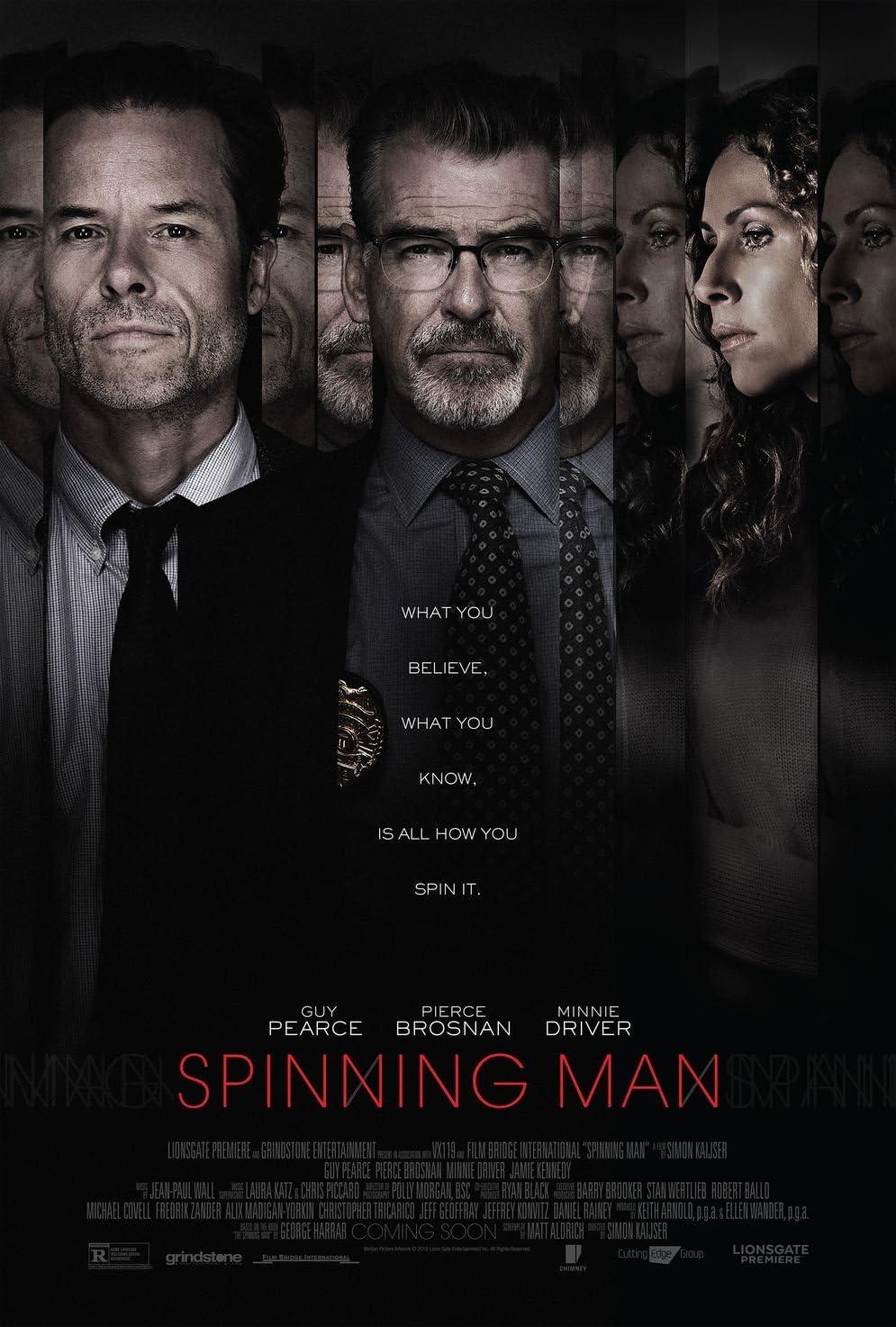 Poster Spinning Man Movie 70 X 45 cm: Amazon.es: Hogar
