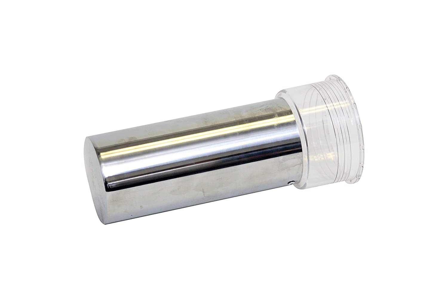 Beer Tubes 128 oz. Super Tube Ice Tube Cooling Accessory, Steel, Silver, (ITST )