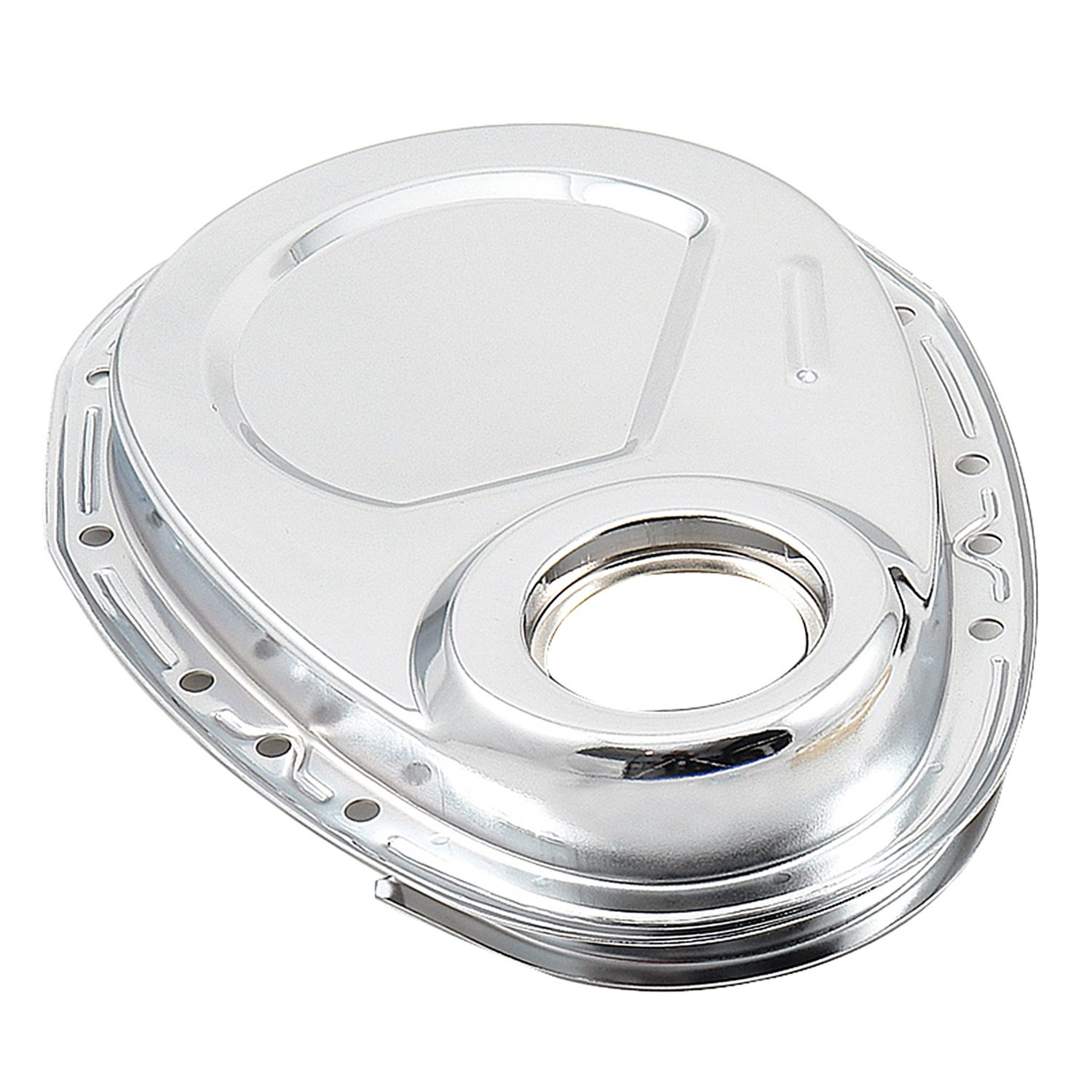 Mr. Gasket 4595 Chrome Plated Timing Cover Only by Mr. Gasket