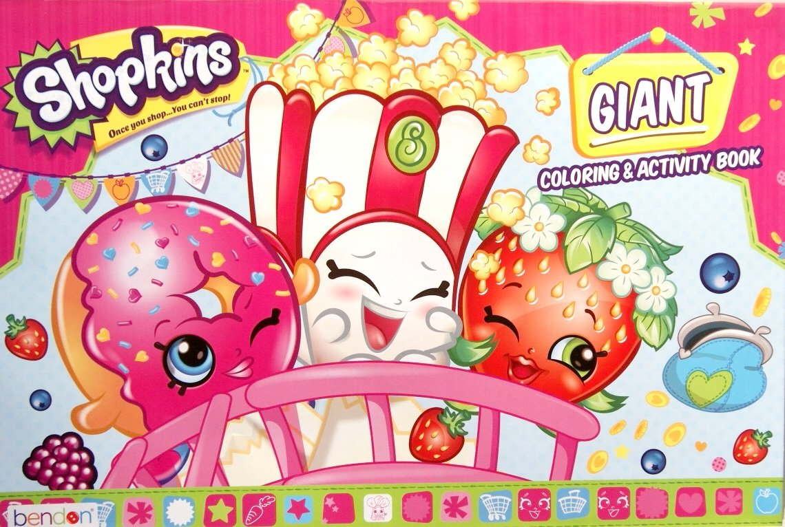 Shopkins Giant Coloring and Activity Book - 11