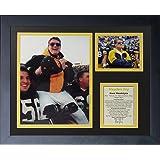 "Hayden Fry 11"" x 14"" Framed Photo Collage by Legends Never Die, Inc."