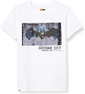 LEGO Boy's Mw-T-Shirt Wendepailletten Batman