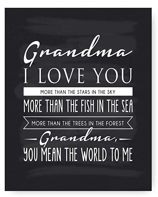 Love Grandma Quote
