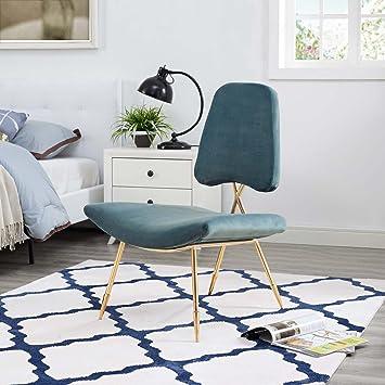 Amazon.com: Modway eei-2809-sea sopesar tapizado silla de ...