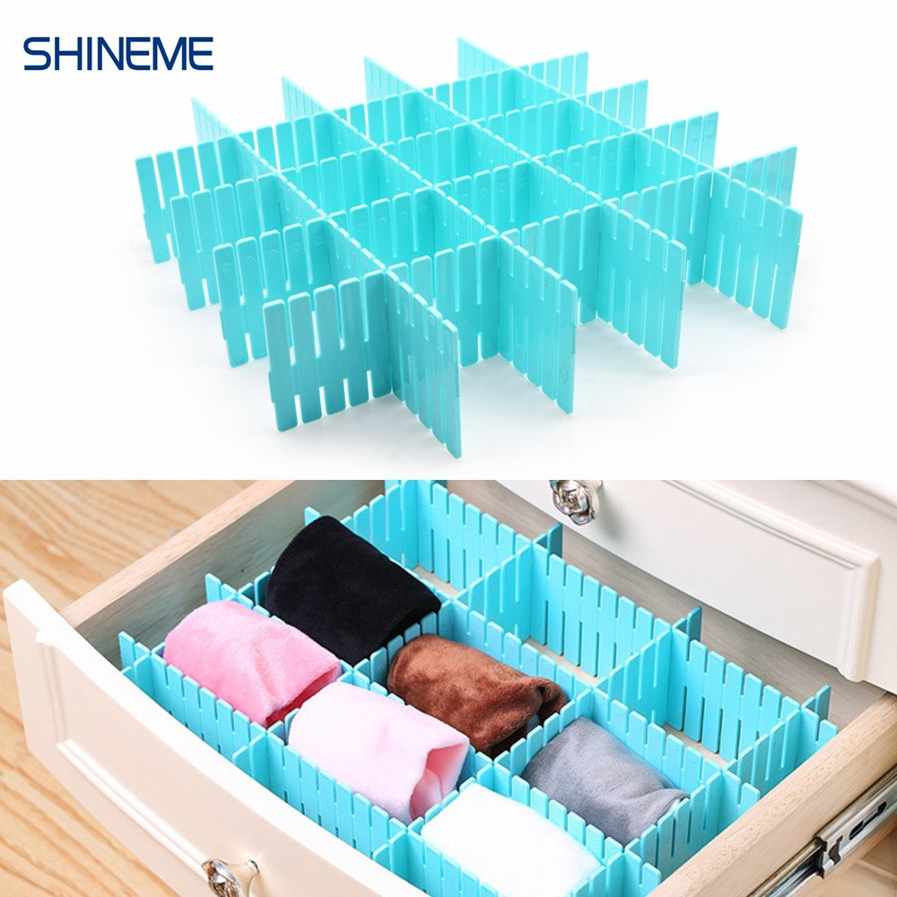 Drawer Organizer Divider Closet Clothing Organizer Click Together